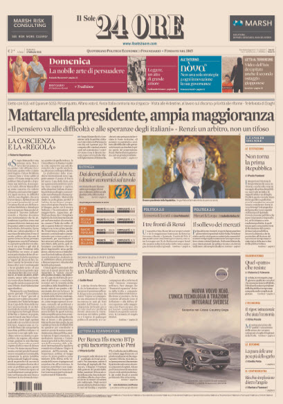 Il Sole 24 Ore - 01.02.2015 free download