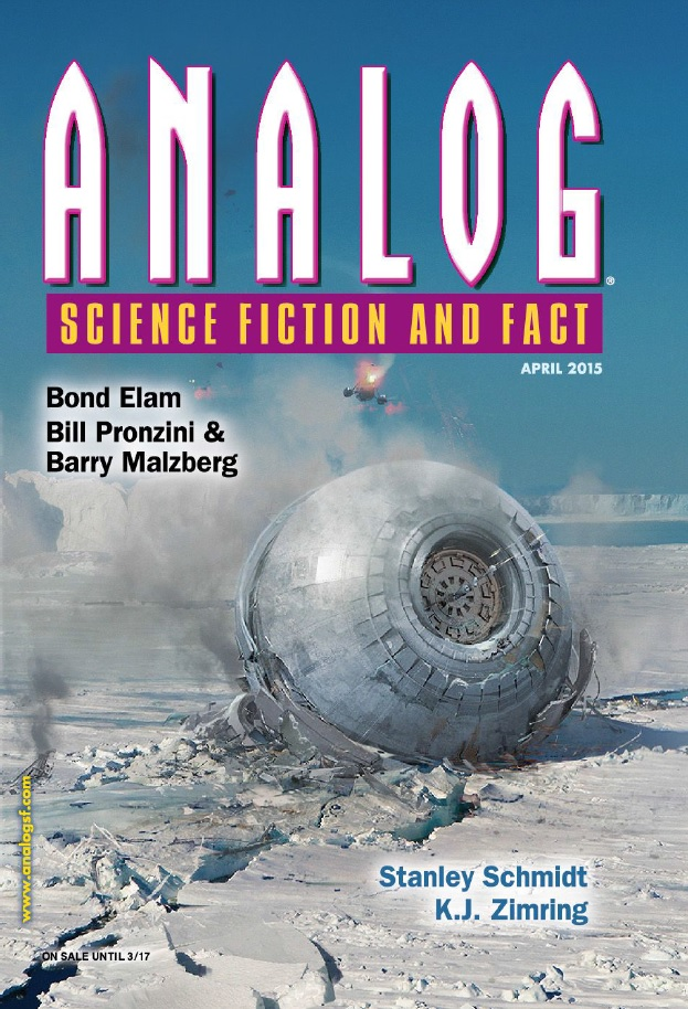 Analog Science Fiction and Fact - April 2015 free download