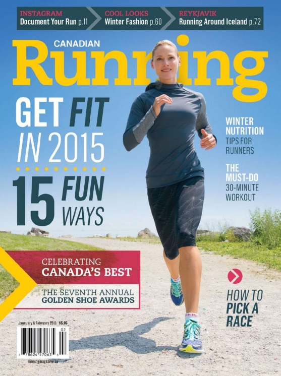 Canadian Running - January-February 2015 free download