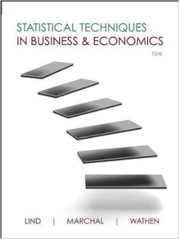 Statistical Techniques in Business and Economics, 15 edition free download