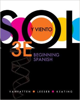 Sol y viento: Beginning Spanish, 3 edition free download
