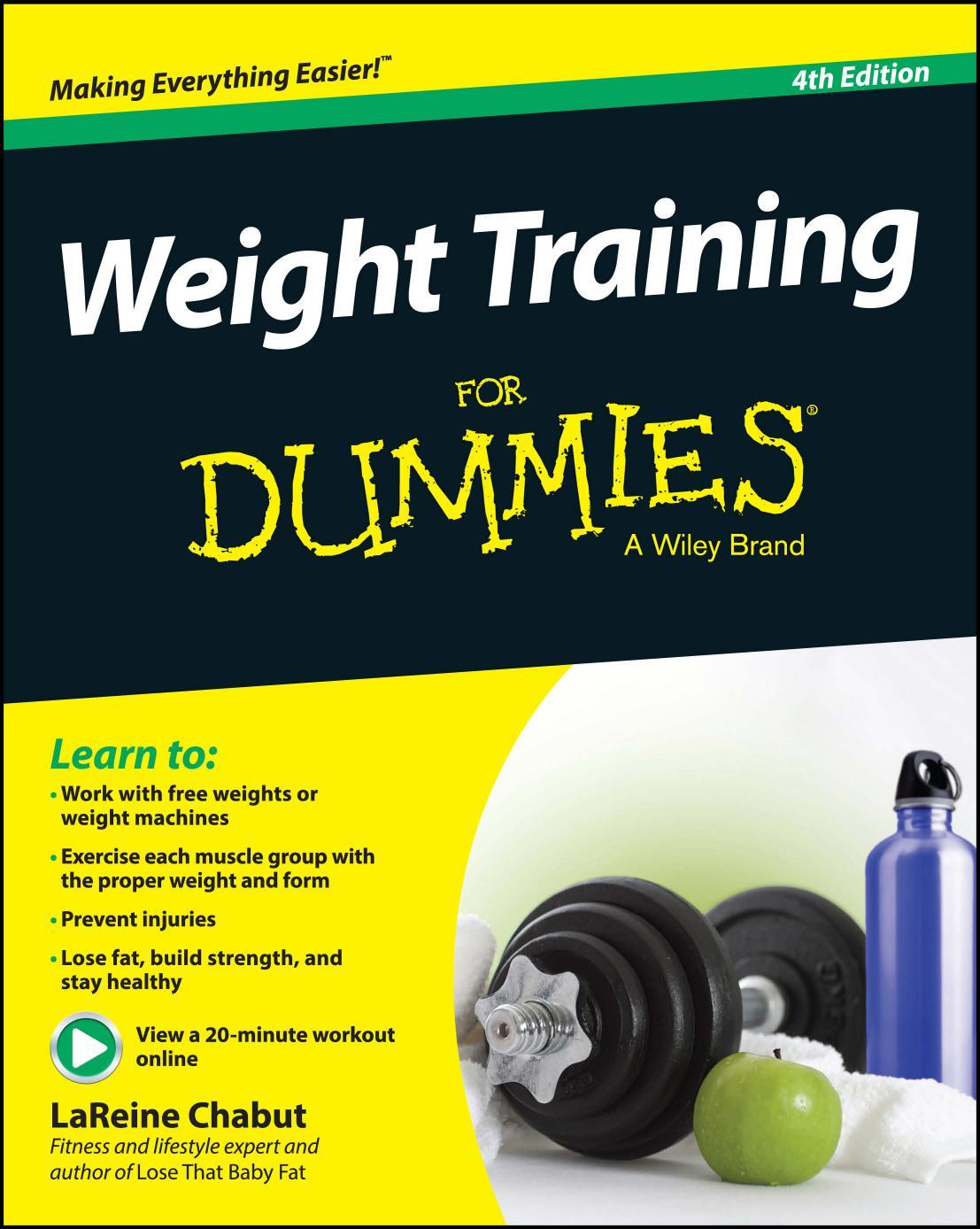 Weight Training For Dummies, 4 edition free download