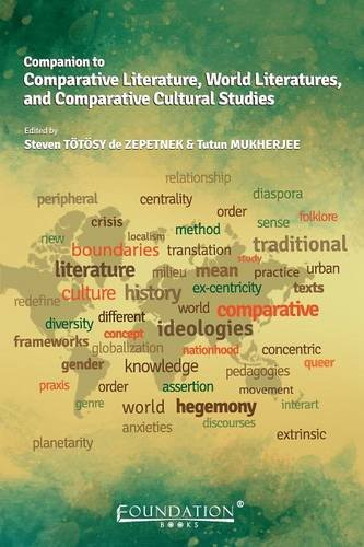 Companion to Comparative Literature, World Literatures, and Comparative Cultural Studies free download