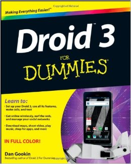Droid 3 For Dummies free download