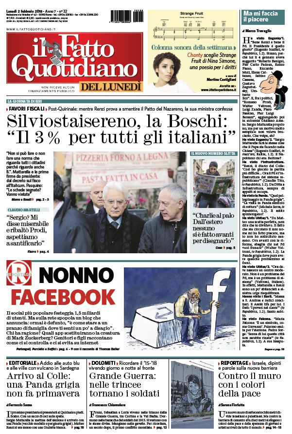 Il Fatto Quotidiano (02-02-15) free download