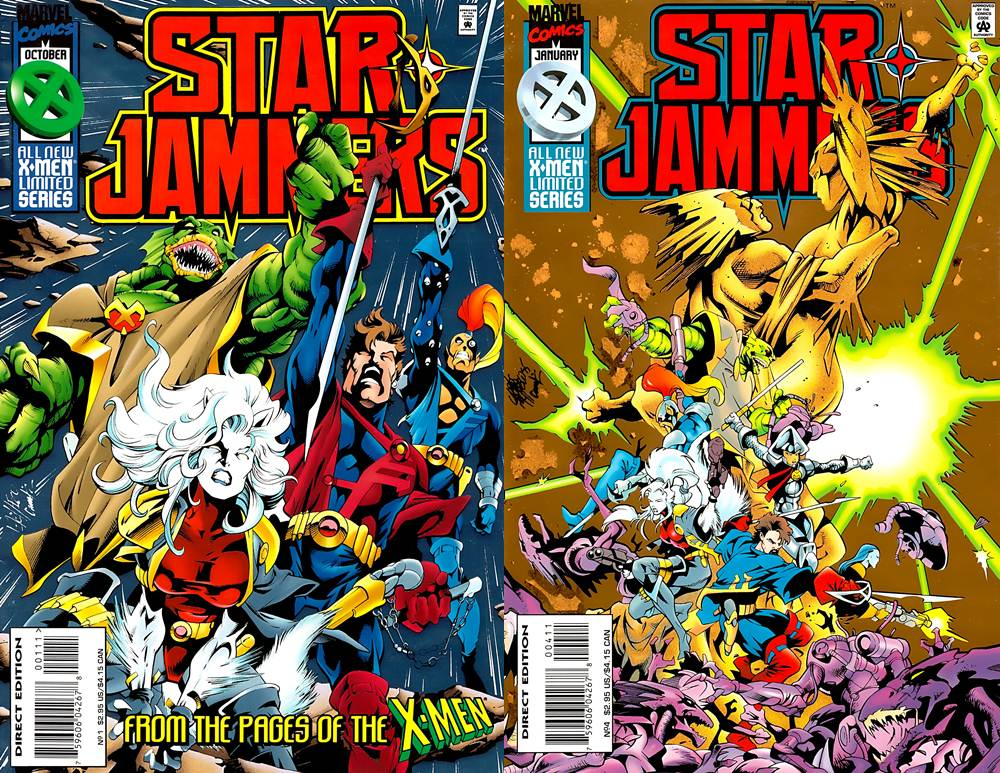 Starjammers v1 #1-4 (1995) Complete free download