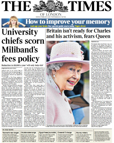 The London Times February 02 2015 free download
