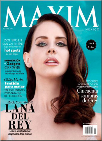 Maxim Mexico - Febrero 2015 free download