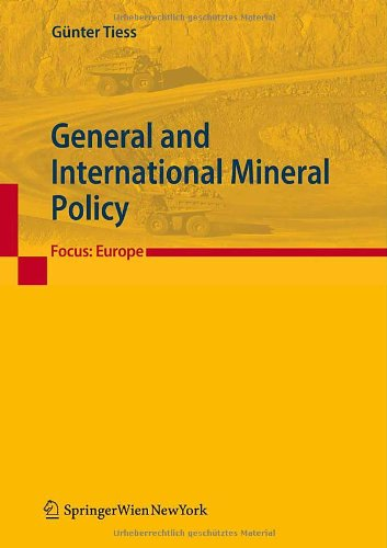 General and International Mineral Policy: Focus: Europe download dree