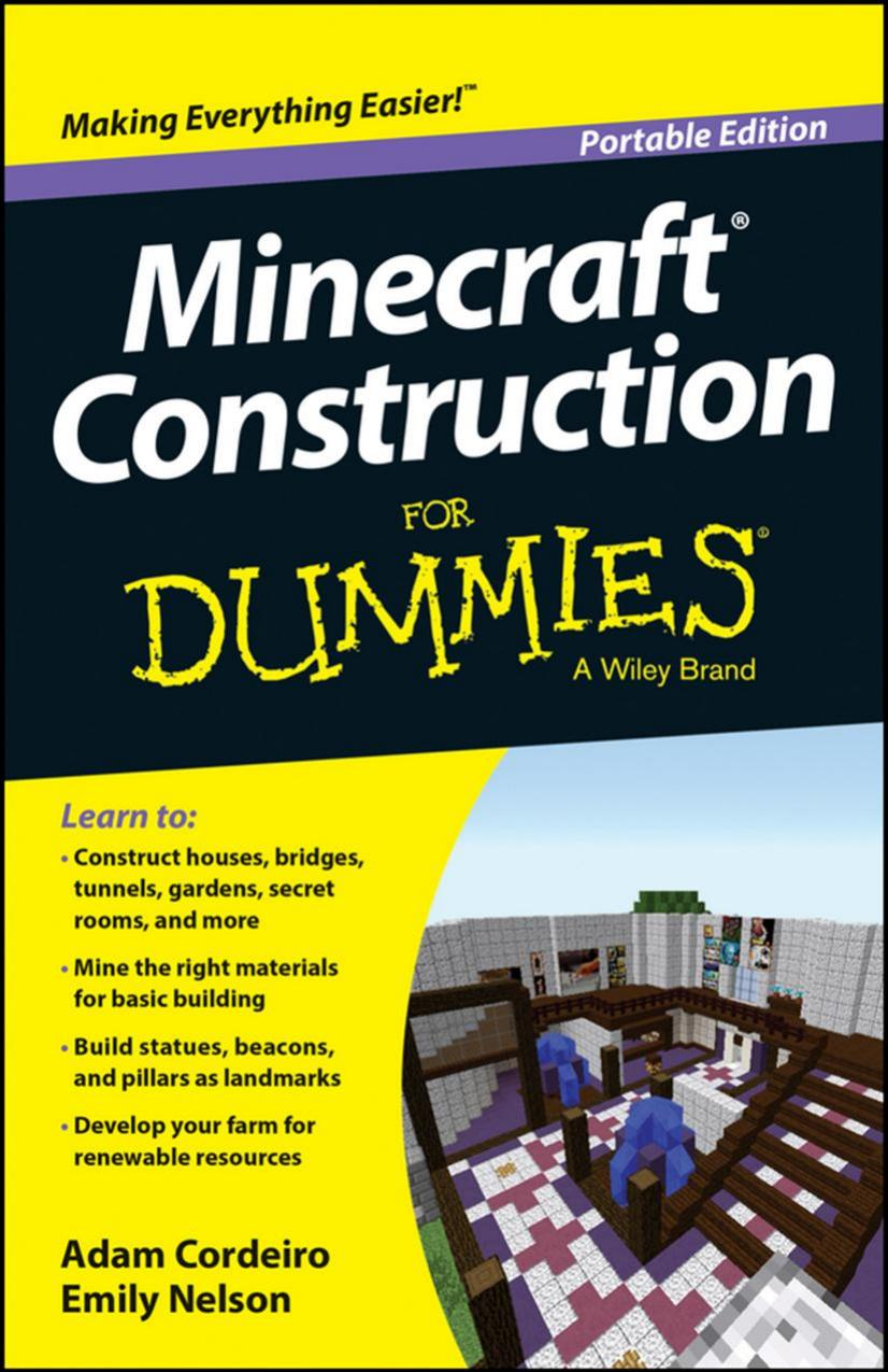 Minecraft Construction For Dummies, Portable Edition free download