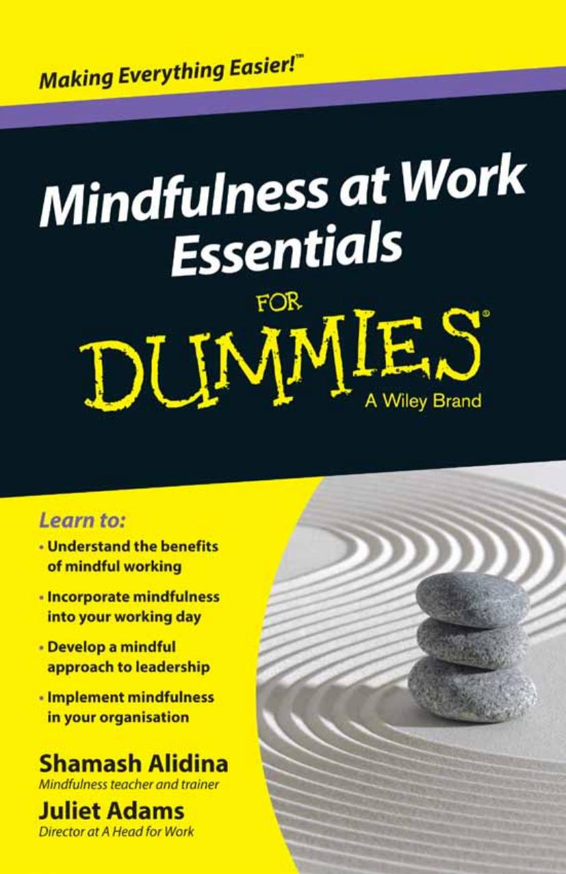 Mindfulness At Work Essentials For Dummies free download