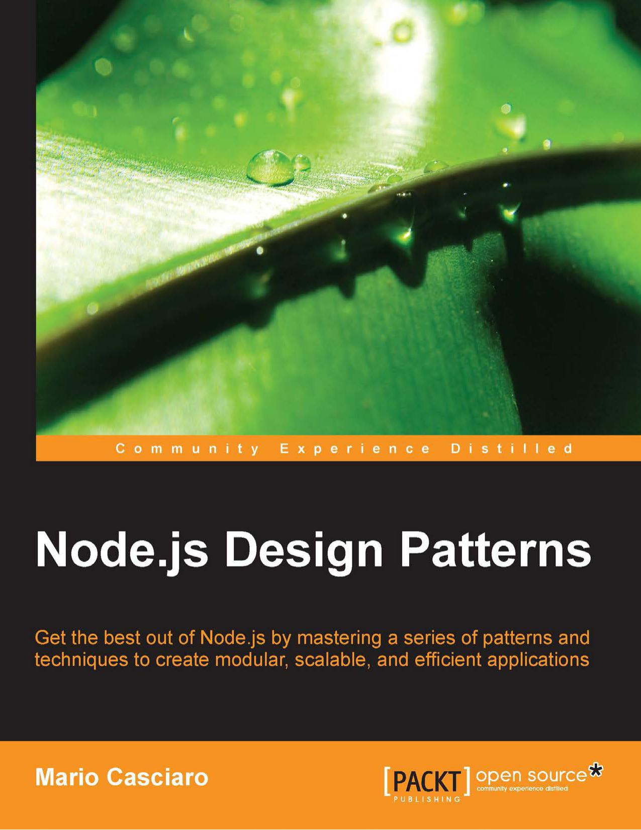 Node.js Design Patterns free download