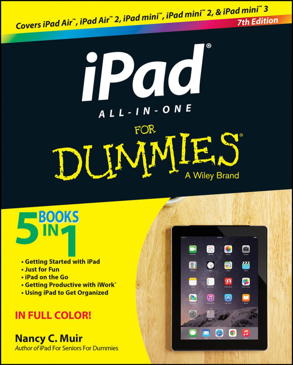 iPad All-in-One For Dummies, 7 edition free download