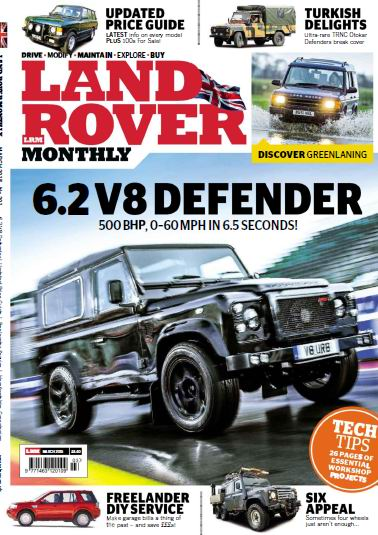 Land Rover Monthly Magzine March 2015 free download