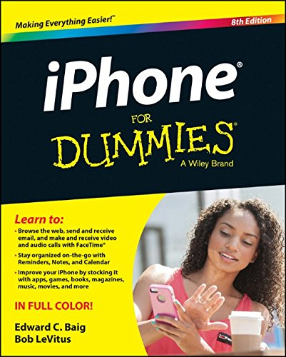 iPhone For Dummies, 8th edition free download