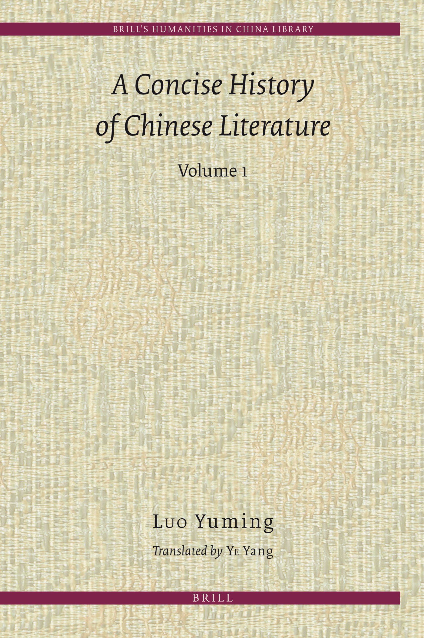 A Concise History of Chinese Literature (2 Volumes) free download