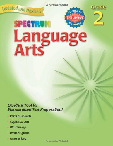 Language Arts, Grade 2 (Spectrum) free download
