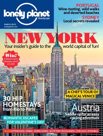 Lonely Planet Traveller Magazine March 2015 free download