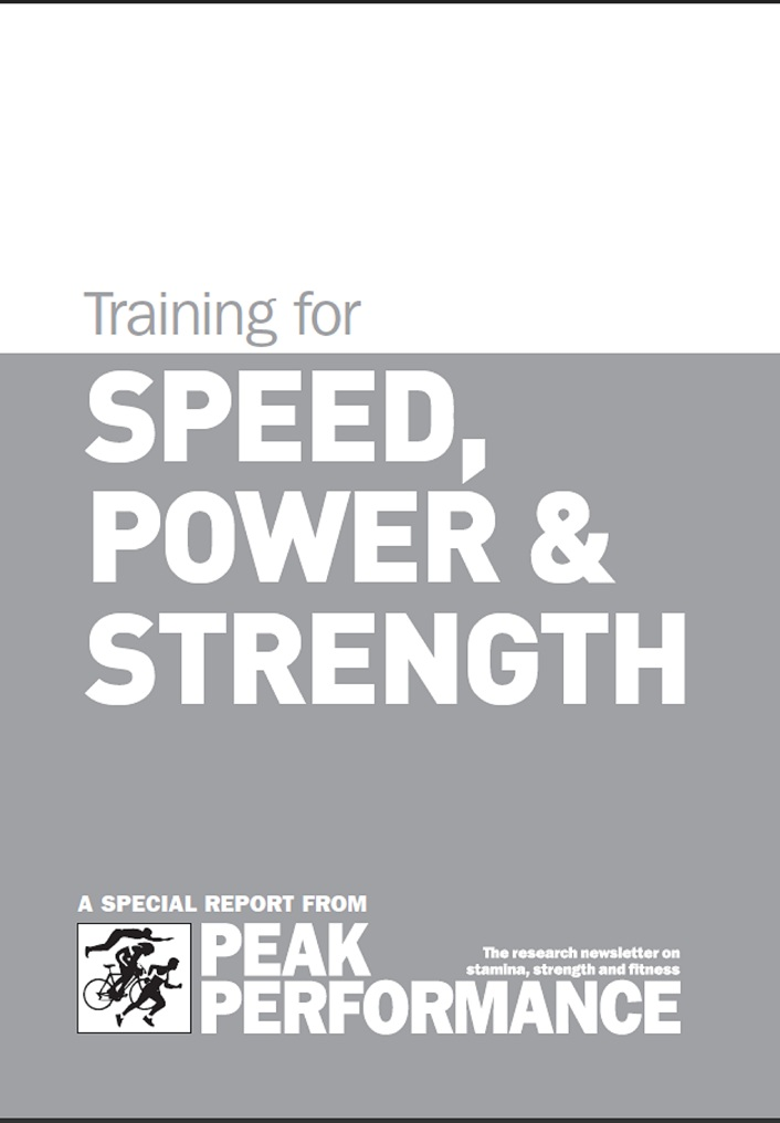 Training for Speed, Power and Strength free download