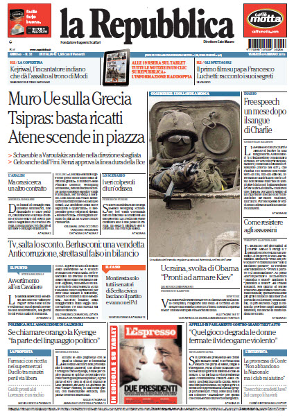 La Repubblica - 06.02.2015 free download