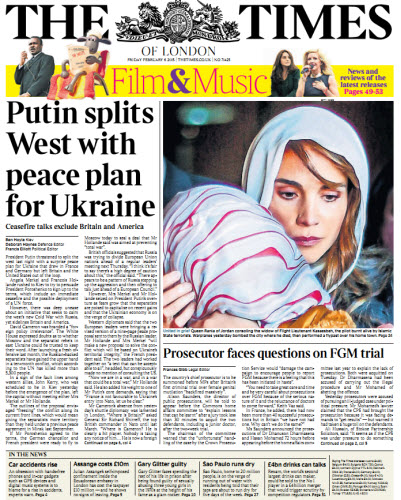 The London Times February 06 2015 free download