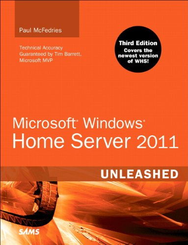 Microsoft Windows Home Server 2011 Unleashed free download