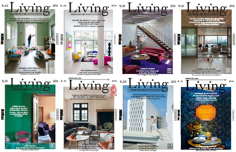 Living Magazine 2014 Full Collection free download