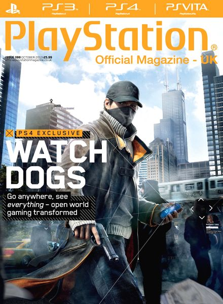 Playstation Official Magazine UK - October 2013 free download