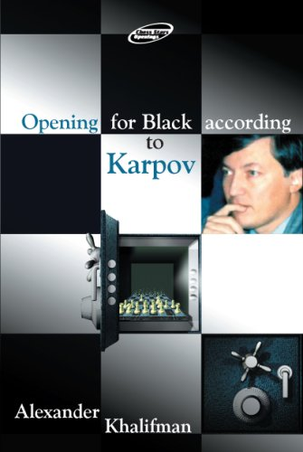 Opening for Black According to Karpov free download