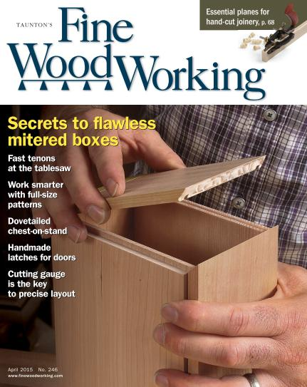 Fine Woodworking #246 - March/April 2015 free download