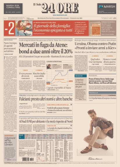 Il Sole 24 Ore - 10.02.2015 free download