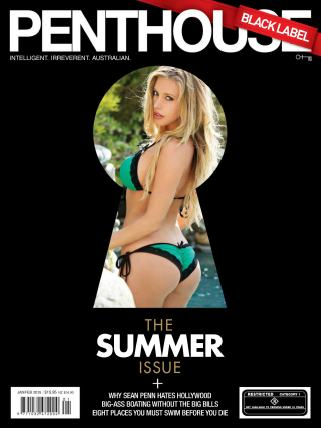 Penthouse Australian Black Label - January - February 2015 free download