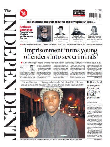 The Independent February 10 2015 free download