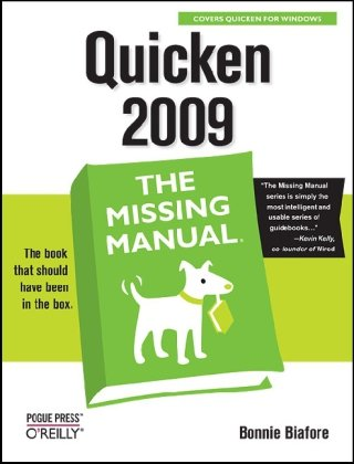 Quicken 2009: The Missing Manual free download