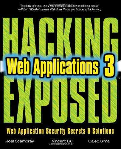 Hacking Exposed Web Applications, Third Edition free download