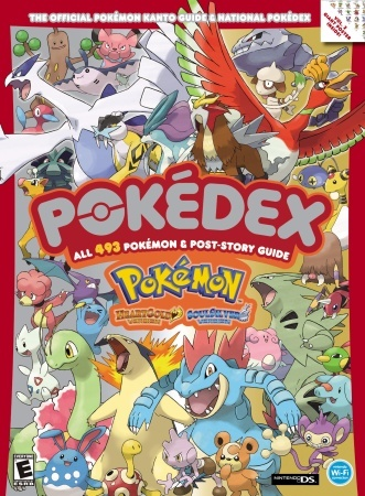 Pokemon HeartGold & SoulSilver The Official Pokemon Kanto Guide National Pokedex: Official Strategy Guide free download