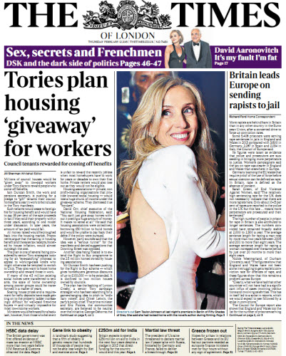 The London Times February 12 2015 free download