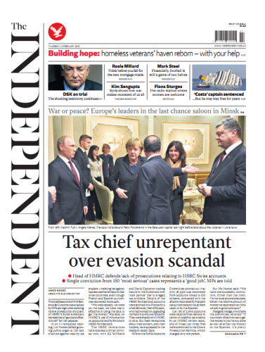 The Independent February 12 2015 free download
