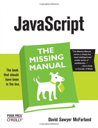 javascript: The Missing Manual free download