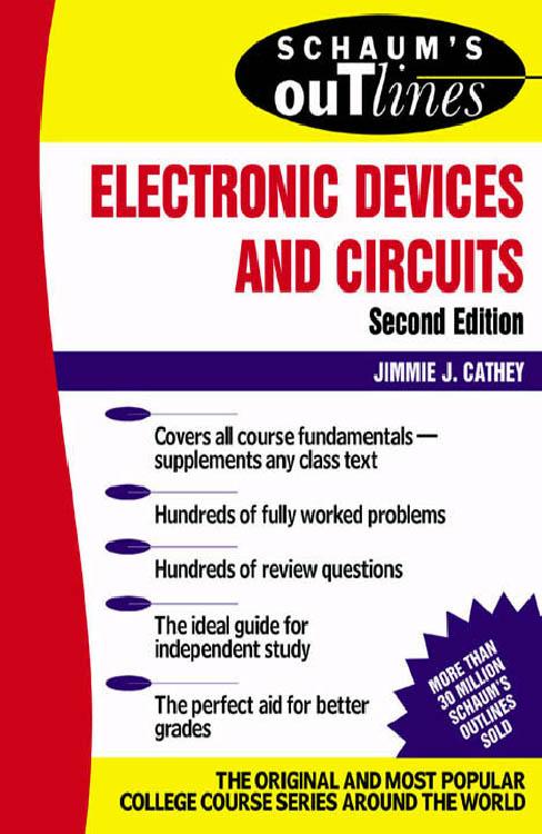Schaum's Outline of Electronic Devices and Circuits, Second Edition free download