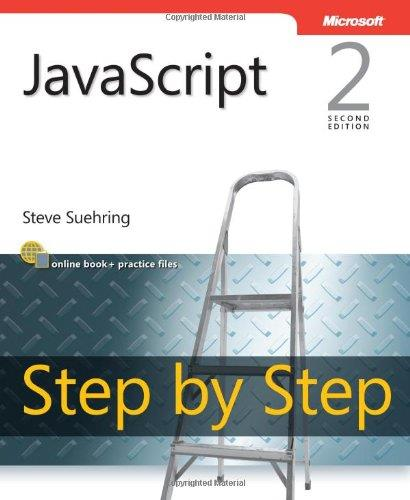 javascript Step By Step, 2nd edition free download