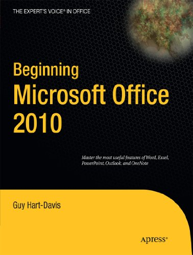 Beginning Microsoft Office 2010 (Expert's Voice in Office) download dree
