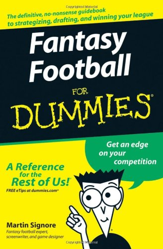 Fantasy Football For Dummies free download