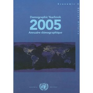 Demographic Yearbook 2005 free download