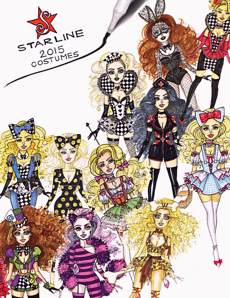 Starline - Costumes Catalog 2015 free download