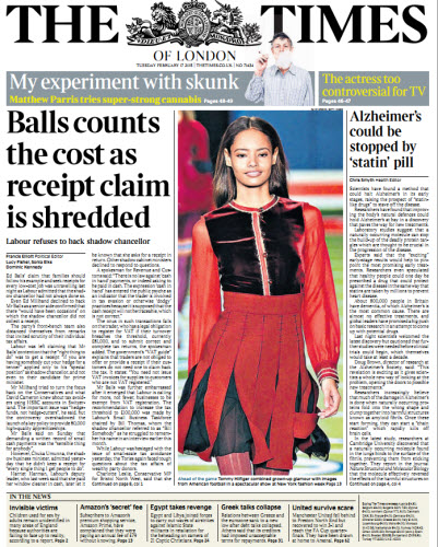 The London Times February 17 2015 free download