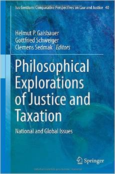 Philosophical Explorations of Justice and Taxation: National and Global Issues free download
