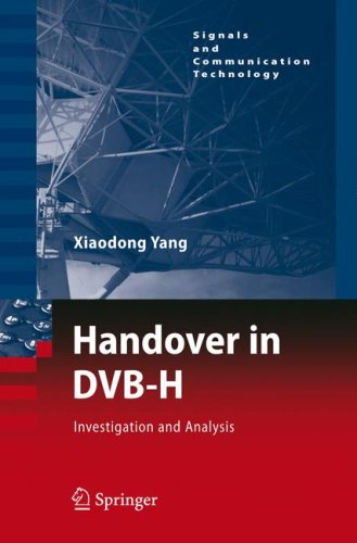 Handover in DVB-H: Investigations and Analysis free download