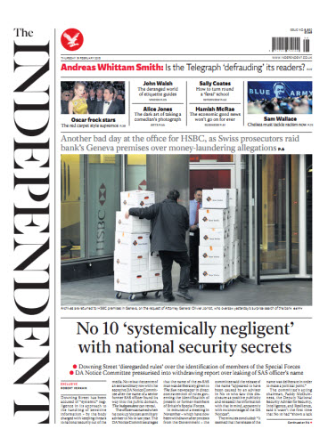 The Independent February 19 2015 free download