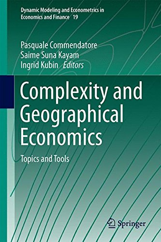 Complexity and Geographical Economics: Topics and Tools free download
